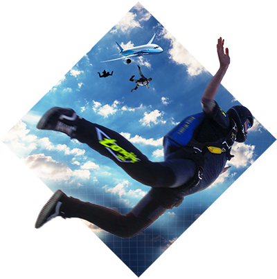 VR Sky Diving