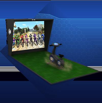 Screen Bike Riding