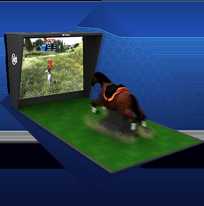 Screen Horse Riding