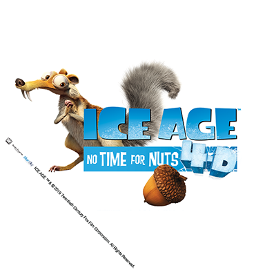 Ice Age: No Time For Nuts 4D